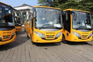 Bus Sekolah Kabupaten Pekalongan Diresmikan