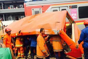 Terjadi 395 Kecelakaan di Perlintasan Kereta Api