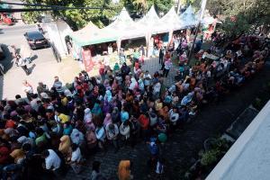 Tekan Inflasi, Pemkot Surakarta Gelar Pasar Murah