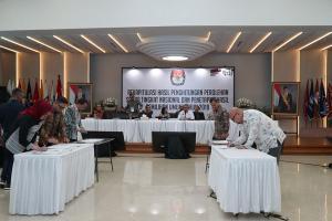 Rekap Suara KPU: Jokowi dan PDIP Unggul
