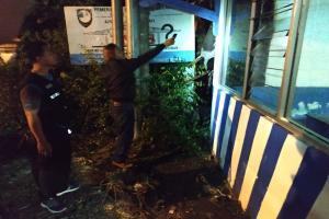 Polisi Usut Kebakaran Pospol Fajar Indah Surakarta