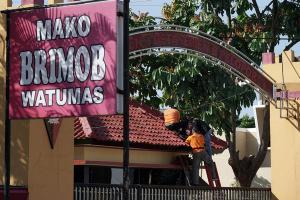 INAFIS Polda Jateng Selidiki Penembakan Mako Brimob Watumas