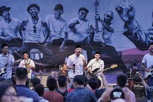 Shaggydog Rayakan HUT Bersama Warga Binaan Wirogunan