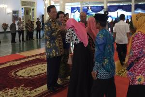 Warga Yogyakarta Ramaikan Gelar Griya di Bangsal Kepatihan