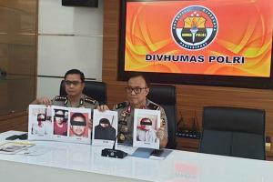 Densus Amankan Lima Terduga Teroris