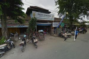 Omzet Pedagang Pasar Gondang Anjlok