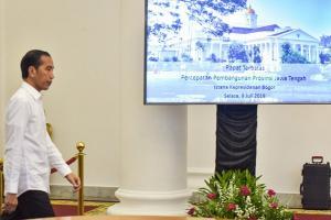 Jokowi Dorong Percepatan Pertumbuhan Ekonomi Jateng