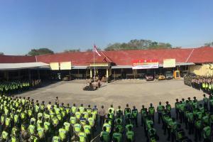 Kawal Pilkades, Polres Grobogan Terjunkan 905 Anggota