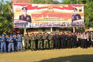 Ganjar Sampaikan Amanat Jokowi untuk Polri