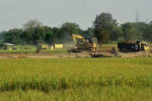 405 Hektare Sawah Terdampak Tol Solo-Jogja
