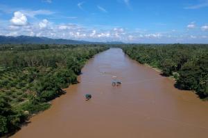 Polda DIY Bongkar Penambangan Ilegal di Sungai Progo