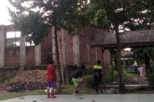 Gedung SMPN 17 Kota Tegal Mangkrak Lima Tahun