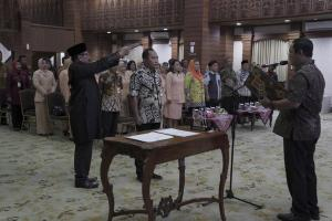 Sah, Iswar Aminudin Jabat Sekda Kota Semarang
