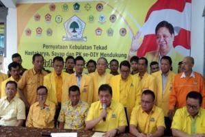 Hastakarya Yogyakarta Dukung Airlangga Caketum Golkar