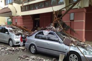 Atap Gedung Kopri Jateng Terban