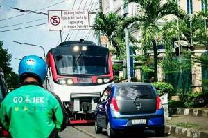 Jalur KA Surakarta-Wonogiri Belum Steril
