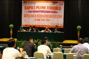 18 KPU Belum Tetapkan Anggota DPRD Terpilih