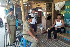 Segera Digusur, Lapak Pedagang 'Exit' Tol Setono Pekalongan