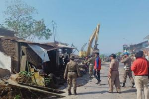 Selesai Dibongkar, 7.800 Lapak PKL di BKT Semarang