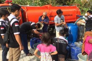 Banyak Bantuan Air Terbuang Percuma