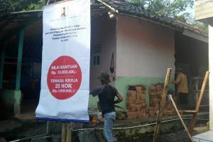 Kementerian PUPR Rehab 5.400 Rumah Taklayak di Magelang