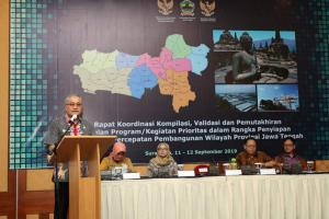 Orientasi Pembangan Tiga Wilayah Strategis Jateng