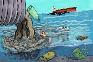 Pencemaran Ganggu Produksi Air PDAM Toya Wening
