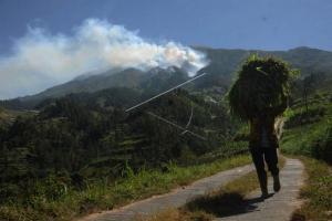Kebakaran Gunung Merbabu Berhasil Dipadamkan