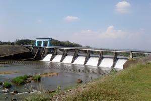Pintu Air Dam Colo Ditutup Sebulan