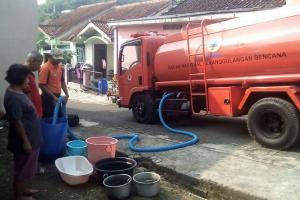 Kemarau, PMI Bantul Alokasikan 500 Tangki Air Bersih