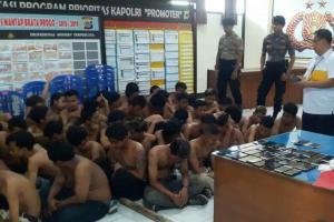 Rusuh di Mandala Krida, Polisi Bekuk 51 Orang