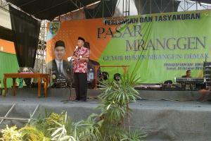 Pedagang Unggas Dilarang Berjualan di Pasar Mranggen