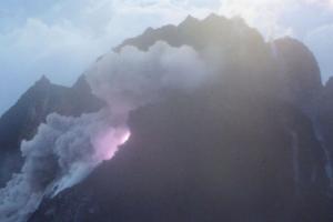 Merapi Muntahkan Awan Panas Letusan 1.500 Meter