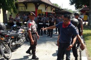 Penjagaan Mapolresta Surakarta Diperketat