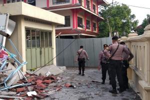 Polisi Belum Usut Ambruknya Atap Dukcapil Klaten