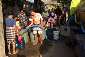 Prambanan Sleman Masih Krisis Air pada Musim Hujan