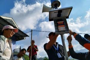 Sembilan EWS Bencana di Karanganyar Rusak