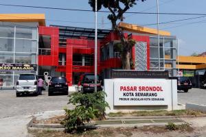 Pasar Srondol Semarang Kembali Bergeliat