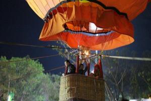 Nikmati Kota Tegal via Balon Udara