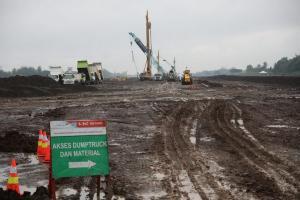 Lamban, Proses Pembangunan Bandara JBS