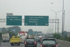 Nataru, Tol Trans Jawa Terapkan Satu Arah