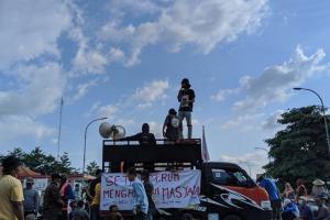 Korban Limbah PT RUM Kembali Demo Setda Sukoharjo