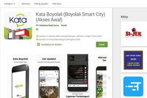 Aplikasi Kata Boyolali Diluncurkan