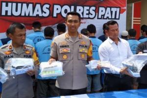 Polisi Amankan 23 Pejudi Pilkades di Pati