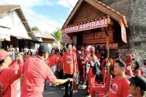 Pilwalkot Surakarta, Pasangan 'Puguh' Hadiri Peresmian Posko di Banjarsari