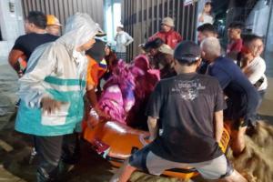 Banjir Bandang di Brebes Berangsur Surut