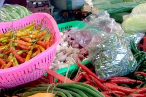 Harga Cabai Bertahan Tinggi di Pasar Manis Purwokerto