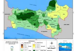 BMKG Ingatkan Warga Jawa Tengah Waspadai Peningkatan Curah Hujan