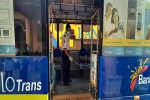 Jumlah Penumpang Bus Batik Solo Trans Menurun Hampir 100 Persen
