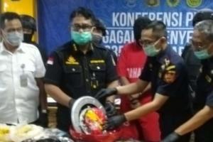 Bea Cukai Semarang Gagalkan Penyelundupan 1,03 Kg Sabu Dari Malaysia